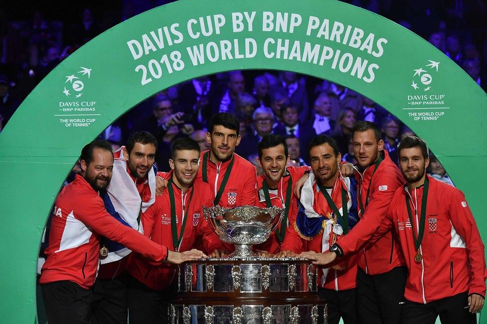 קרואטיה גביע דייויס (צילום: AFP)