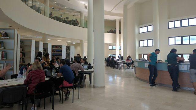 ספריה (צילום: יח