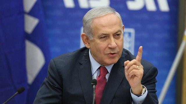 Prime Minister Benjamin Netanyahu (Photo: Alex Kolomoisky)