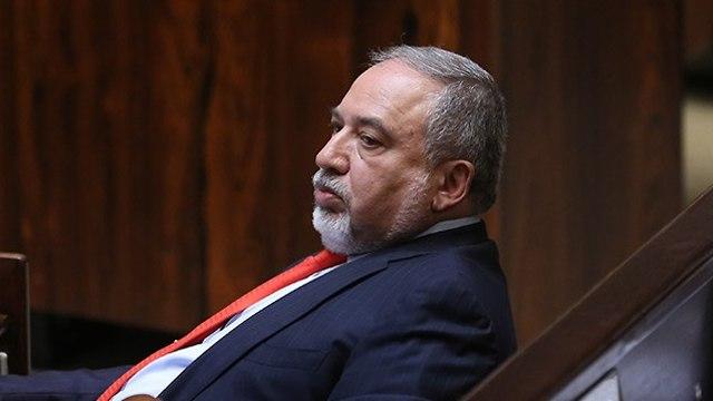 Former defense minister Avigdor Liberman (Photo: Alex Kolomoisky)