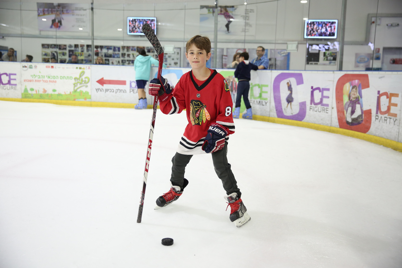 """Хоккей в """"Айс Пикс"""". Фото: Элиран Авиталь"""
