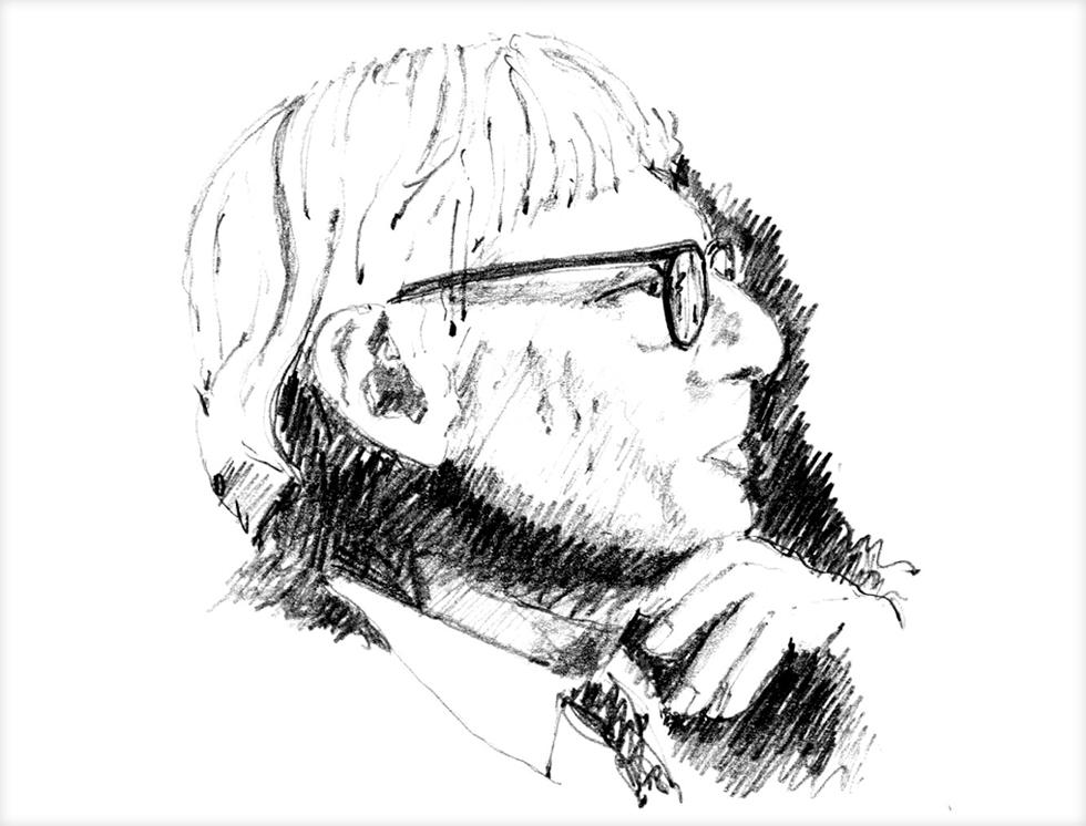 ציטוטים של אדריכלים מפורסמים תמיד יעזרו לרושם הנחוץ. הנה לואי קהאן, עם ''ארכיטקטורה היא עשייה מחושבת של חלל'' (איור: מתיו פרדריק)