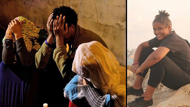 הילדה בת ה-12 נרצחה בתל אביב סילבנה צגאיי (צילום: עמית שעל)