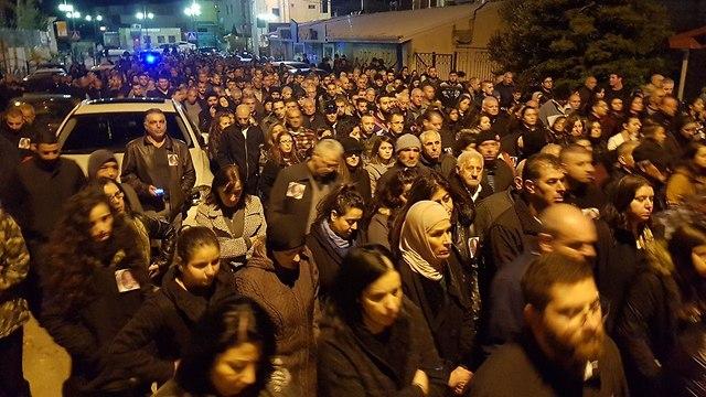 הפגנה בעקבות רצח יארא איוב ()