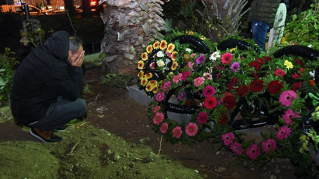 הלוויה יארא איוב (צילום: אביהו שפירא)