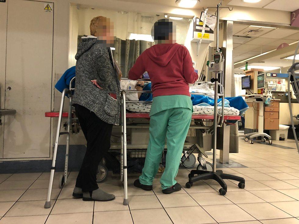 בית חולים (צילום: אריאלה שטרנבך)