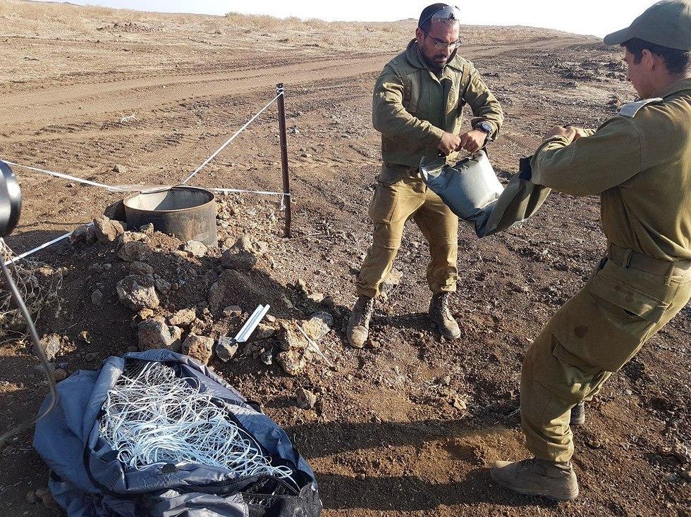 IDF Combat Engineering Corps in the Golan Heights (Photo: Avihu Shapira)