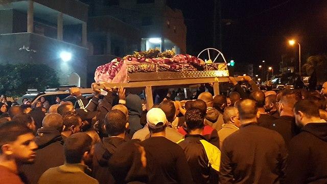 הלוויה חאפז עיסא כפר נחף ()