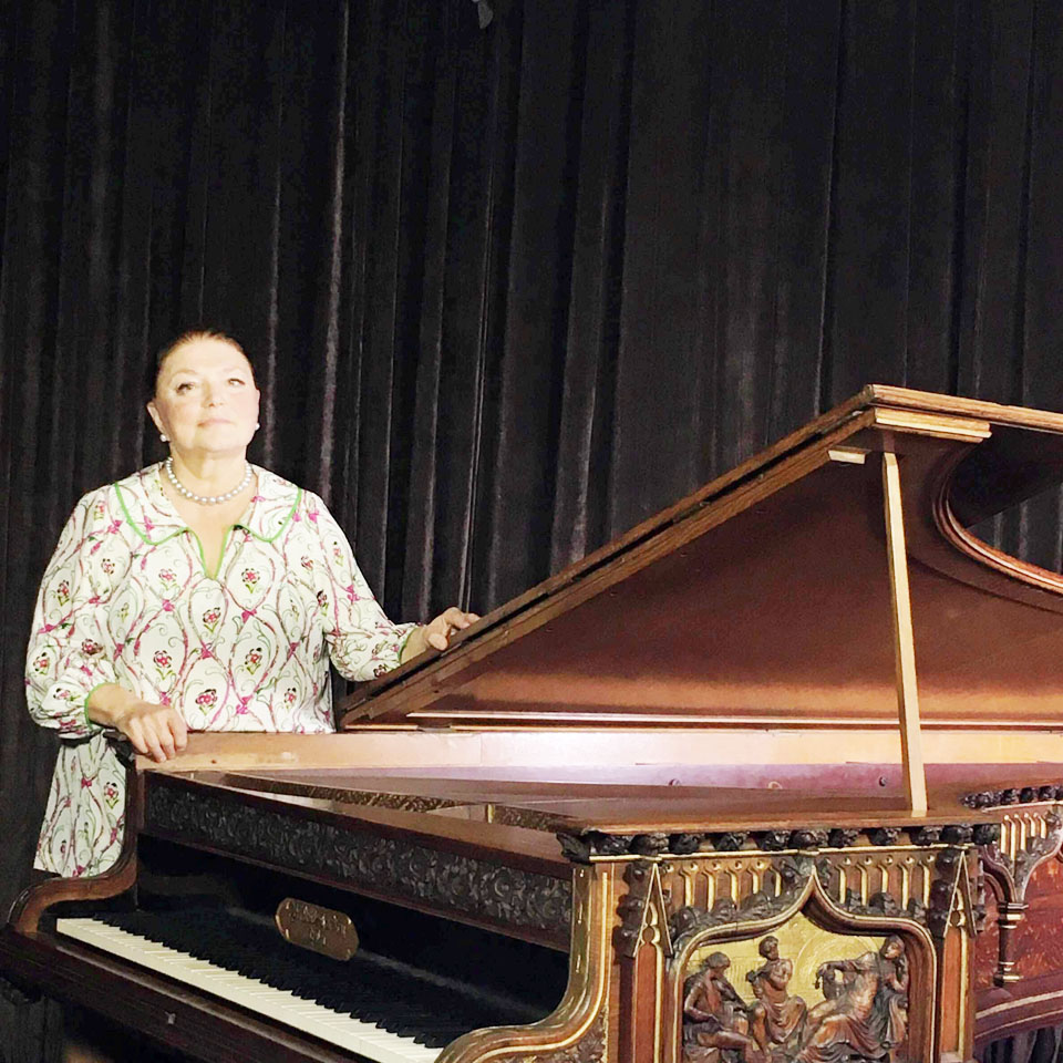 Оксана Яблонская. Фото: из личного архива пианистки