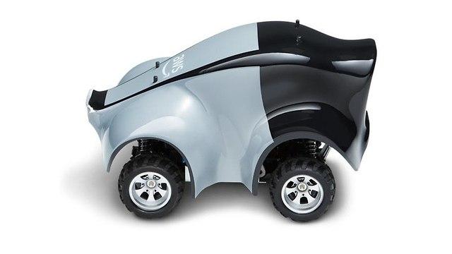 המכונית האוטונומית של אמזון (צילום: AWS)