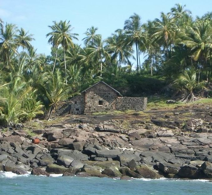 Dreyfus' hut in Devil's Island.