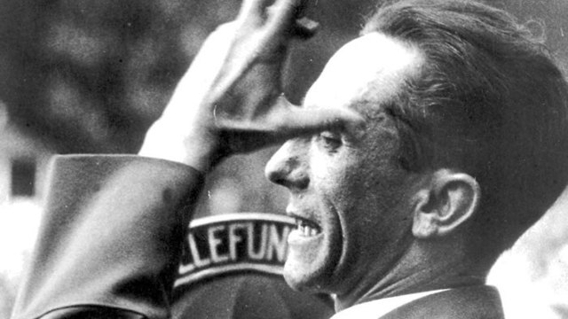 Joseph Goebbels, German Nazi politician and Reich Minister of Propaganda of Nazi Germany from 1933 to 1945 (Photo: AP)