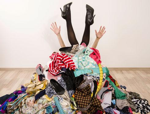 סביבה מבולגנת מעודדת חוסר שליטה עצמית (צילום: Shutterstock)
