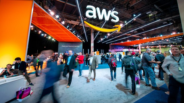 כנס Re:invent של AWS (צילום: AWS)