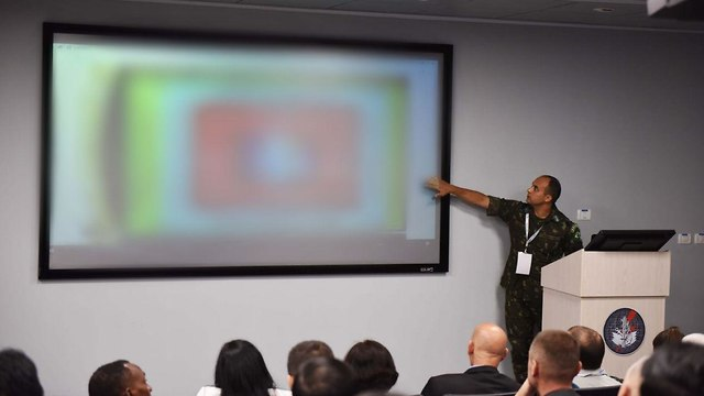 A cyber security conference in Israel (Photo: IDF Spokesperson's Unit)