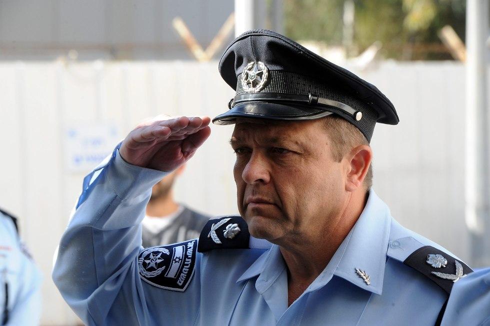 Moti Cohen, the Substitute Police Commisioner (Photo: Haim Horenstein)