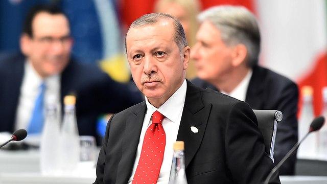נשיא טורקיה רג'פ טאיפ ארדואן  (צילום: gettyimages)