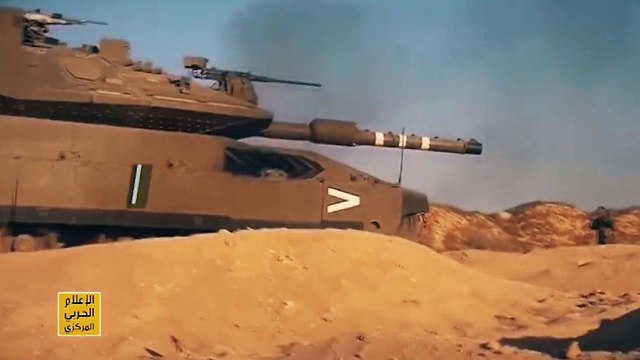 Images from Hezbollah's propaganda video