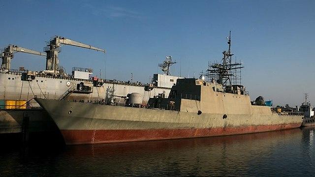 Le vaisseau de guerre furtif iranien