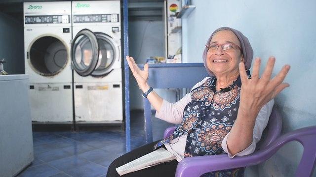 המכבסה סדרת רשת (צילום: רן עזרא)