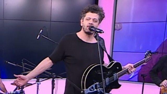 אמיר דדון באולפן (צילום: חגי דקל ואורי דוידוביץ')