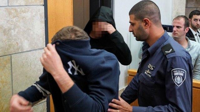 Подозреваемые в суде Нацерета. Фото: Эфи Шарир