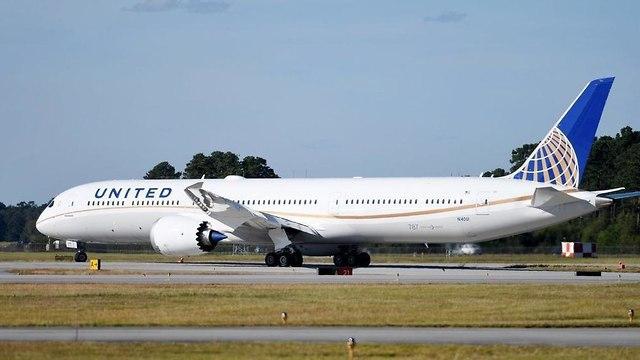 מטוס בואינג מדגם 787-1000 של חברת יונייטד איירליינס (צילום: יונייטד איירליינס)