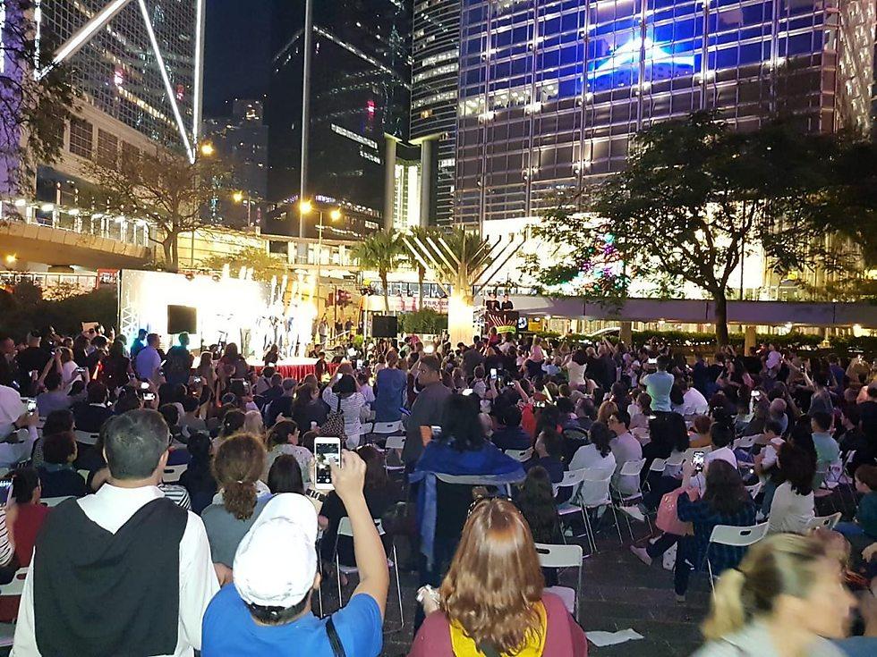 חנוכה בהונג קונג ()