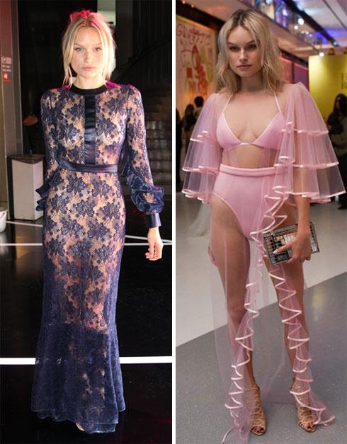 """""""רציתי שידברו עליי אז, וחשבתי שזאת הדרך למשוך תשומת לב"""". דול בשמלות של אלון ליבנה בשבוע האופנה ובביוטי סיטי (צילום: שי פרנקו, רפי דלויה)"""