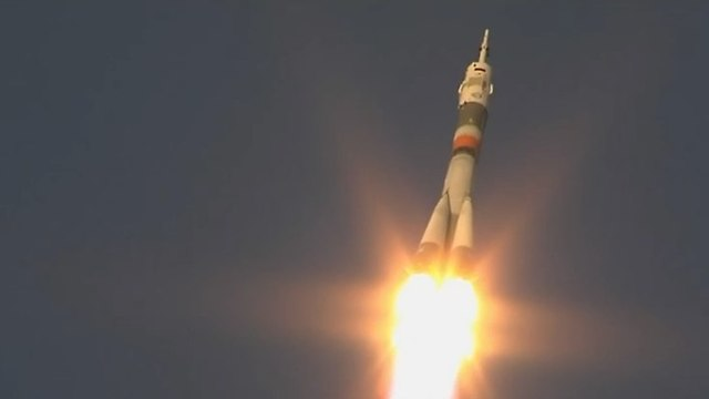 החללית לאחר השיגור (צילום: נאס