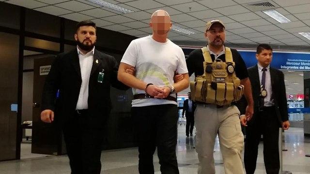 שראלי ברח ממעצר בברזיל ()