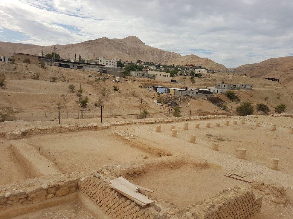 ארמונות החשמונאים  (צילום: אסף קמר)
