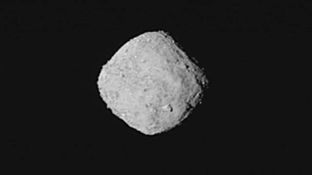 האסטרואיד בנו (צילום: נאס