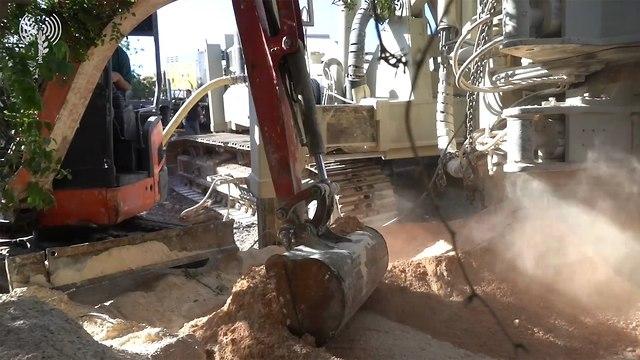 Техника для разрушения туннелей. фото: пресс-служба ЦАХАЛа (Photo: IDF Spokesman's Office)
