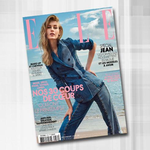 על שער מגזין Elle הצרפתי