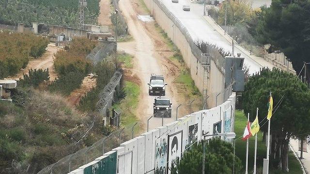 Israel-Lebanese border
