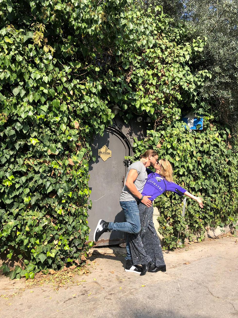 לירן כוהנר וגיא גיאור (צילום: פרטי)