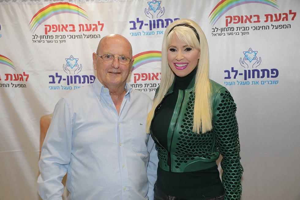 לירן כוהנר וגיא גיאור (צילום: רפי דלויה)