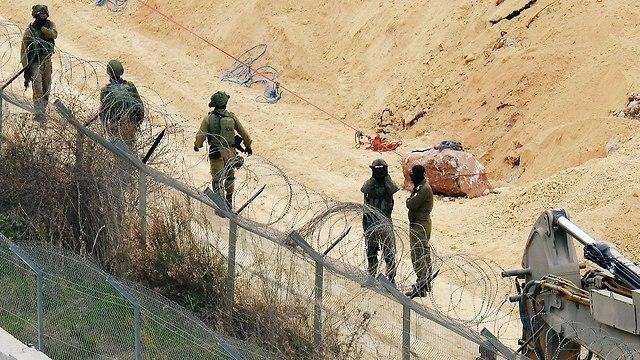 """סרטון ראשון מהמנהרה שחשף צה""""ל בצפון, חיזבאללה פרסם תמונות חיילים 89227150100858640360no"""