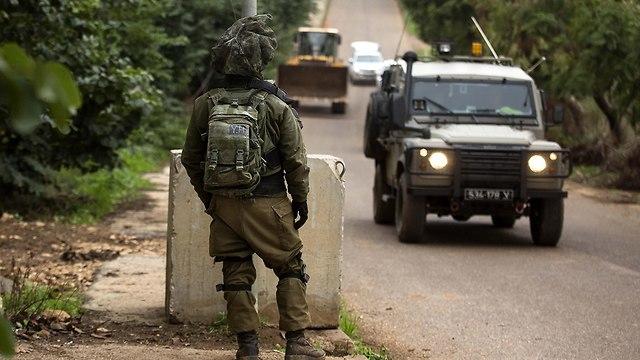 גבול ישראל לבנון ליד מטולה (צילום: gettyimages)