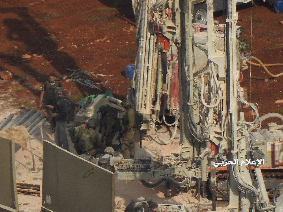 """סרטון ראשון מהמנהרה שחשף צה""""ל בצפון, חיזבאללה פרסם תמונות חיילים 892295501000100980734no"""