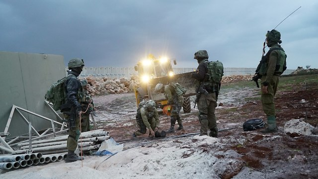 IDF troops operating in the north (Photo: IDF Spokesperson's Unit)