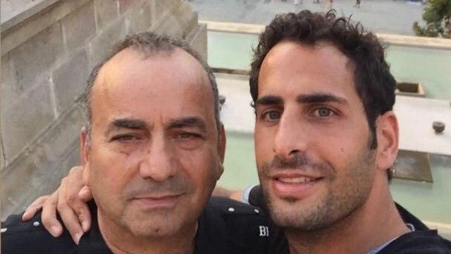 """Йосеф Янай (слева) с сыном: """"Папа погиб ни за что"""""""