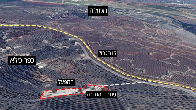 אינפו גרפיקה מנהרות מלבנון לישראל ()