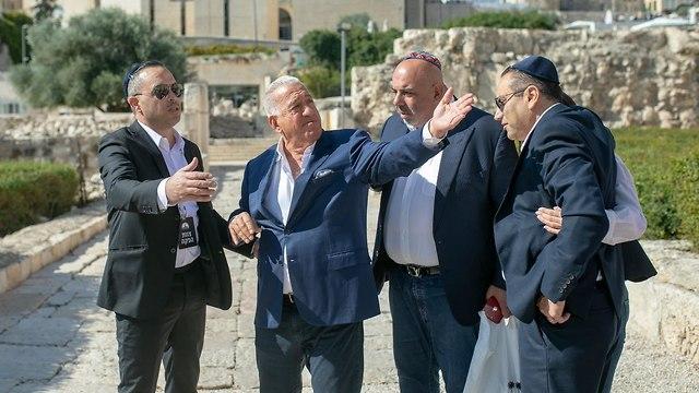 ג'ו נקש בירושלים (צילום: רון אילון)