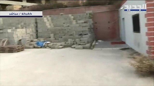 פתח מנהרה מפעל בלוקים בכפר כילא לבנון ()