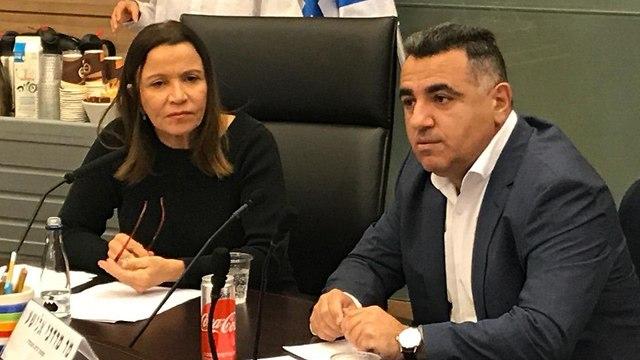שלי יחימוביץ ומוטי אלישע, ממונה זרוע העבודה במשרד העבודה ()