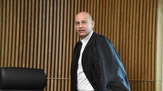 השופט איתן אורנשטיין נשיא בית המשפט המחוזי תל אביב (צילום: יאיר שגיא)