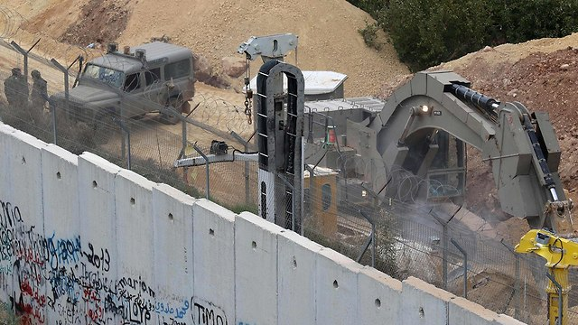 IDF searches for Hezbollah tunnels as part of Operation Northern Shield (Photo: AFP)