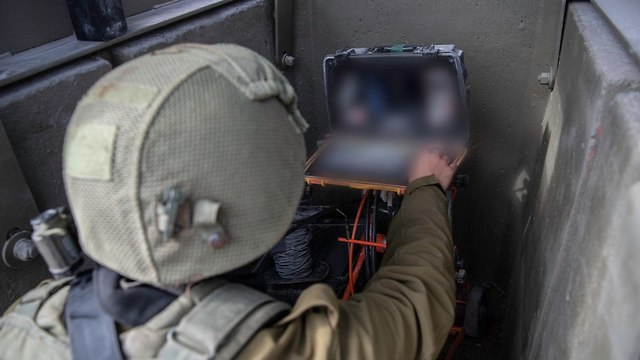 IDF searches for Hezbollah tunnels as part of Operation Northern Shield (Photo: IDF Spokesman's Office)